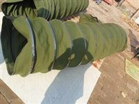 电厂吊环式伸缩帆布袋