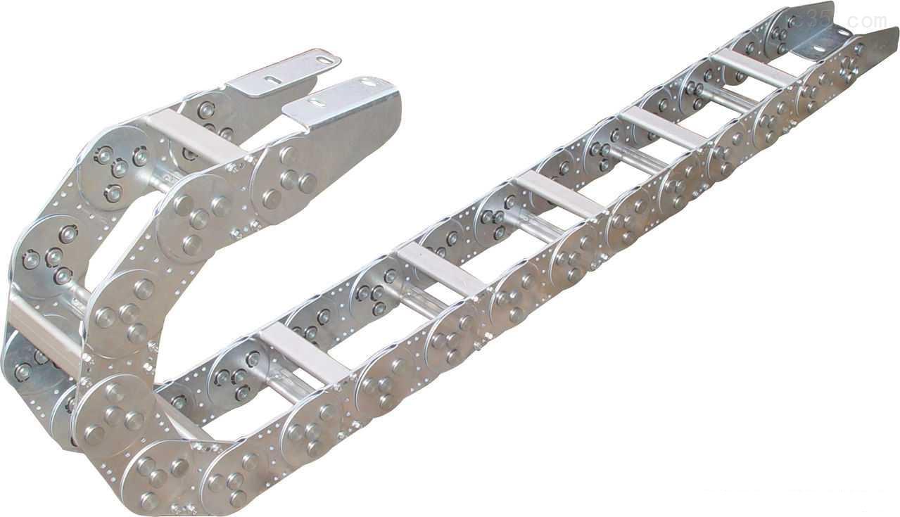 打孔式钢铝拖链