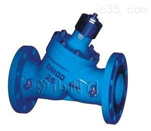三合一止回阀-水利控制阀