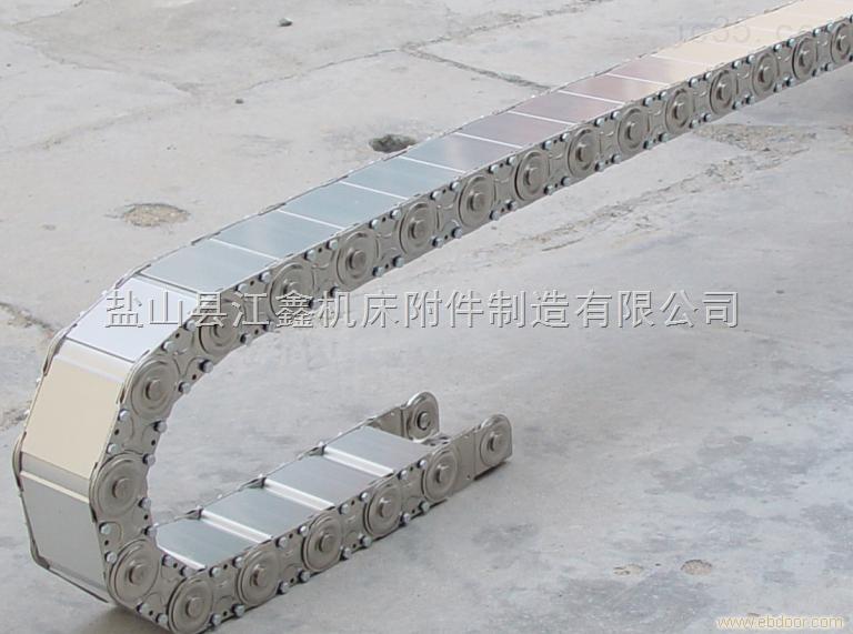 TL型全封闭式机床钢制拖链