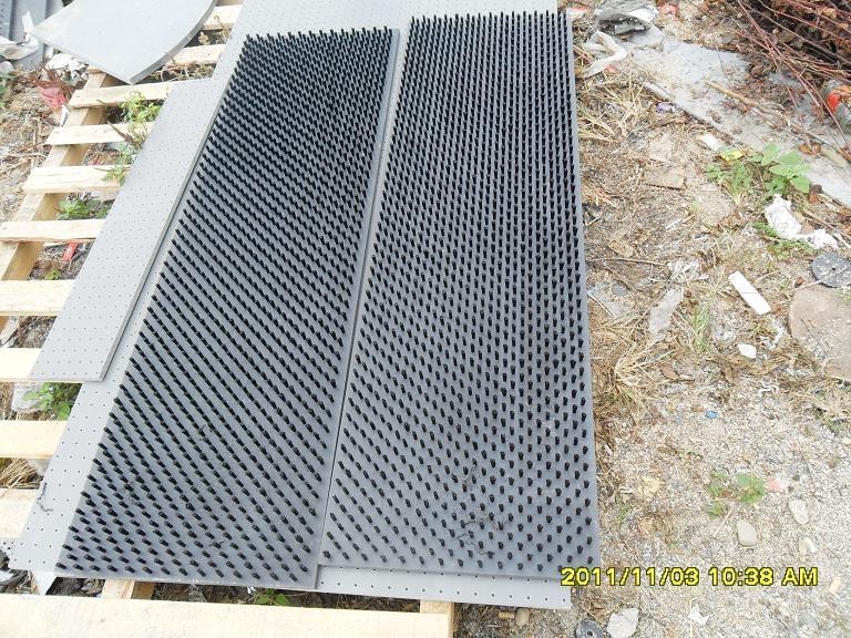 数控转塔冲床用毛刷板,减震毛刷板