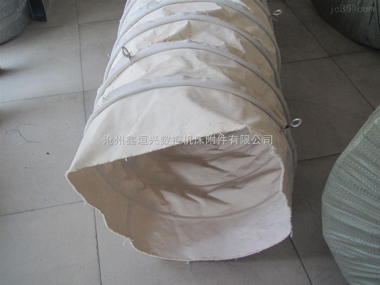 耐磨输送水泥帆布伸缩布袋