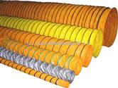 矽胶高温风管,奶高温风管、软管、接头系列,耐高温伸缩风管