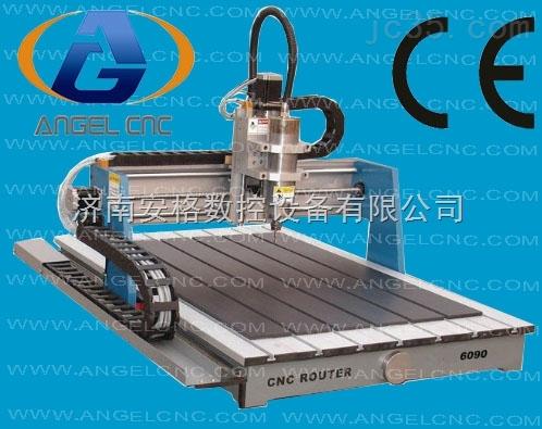 济南6090数控广告标牌双色板小型工艺品雕刻机