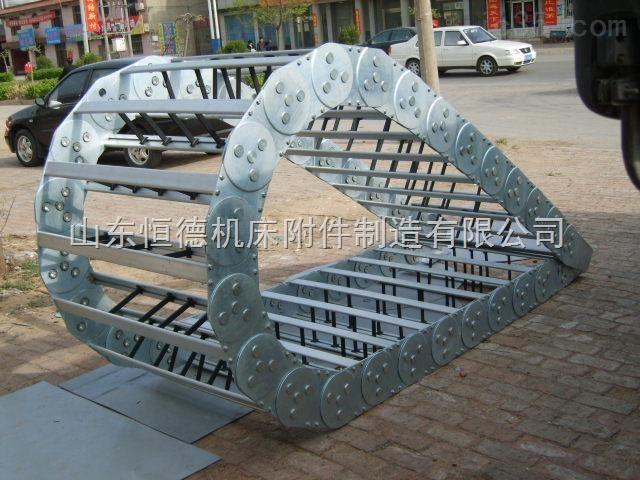 钢铝拖链—穿线重载型穿线钢铝拖链价格