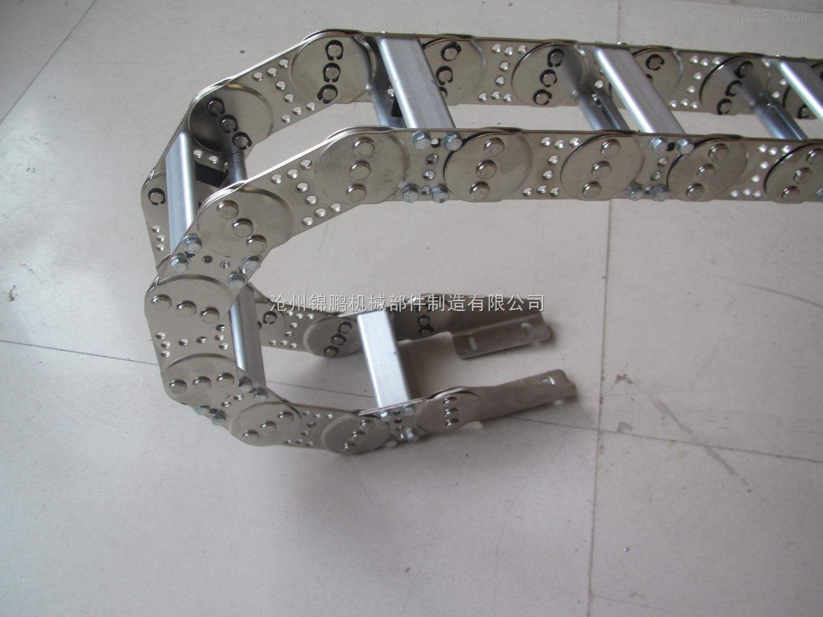 桥式钢铝拖链