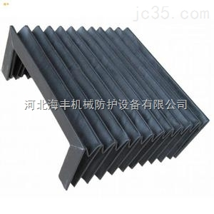 天津柔性风琴式机床导轨防护罩