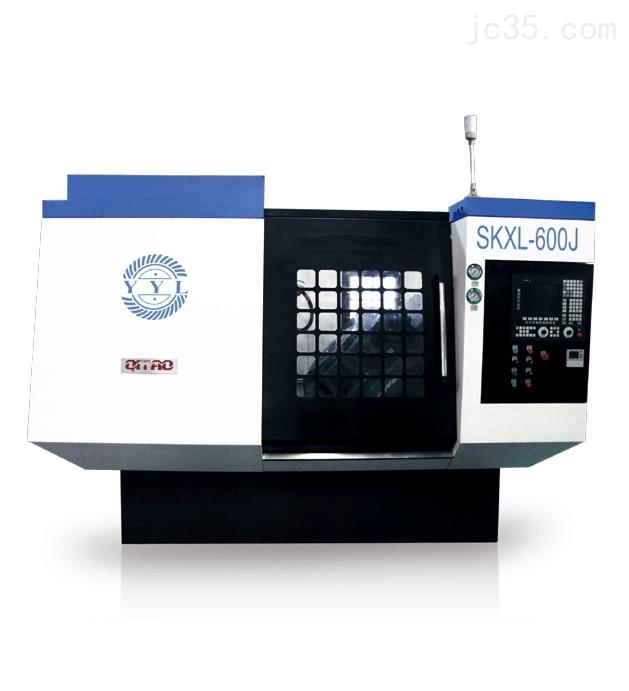 旗韬SKXL-600、SKCL-600J数控弧齿轮高效粗切、精拉机