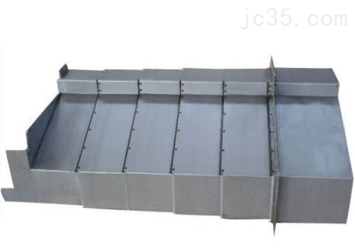 无锡伸缩式机床钢板防护罩