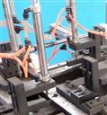 专利三联PVC接线盒自动冲孔机/一机多用冲底孔