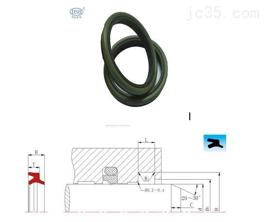 液压密封件|防尘圈DBH|橡胶密封件|Y型密封圈