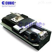直线马达平台 天津cubic电动滑台 单轴机械手 上下料机械手 手动滑台 精密模组