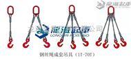 单肢钢丝绳成套吊具【龙升钢丝绳吊索具】龙海起重