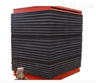 升降机柔性式方形风琴防护罩