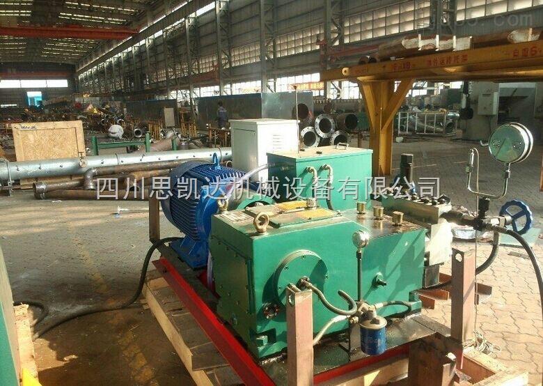 管道电动高压泵 胶管水压打压泵 大流量打压泵型号类型
