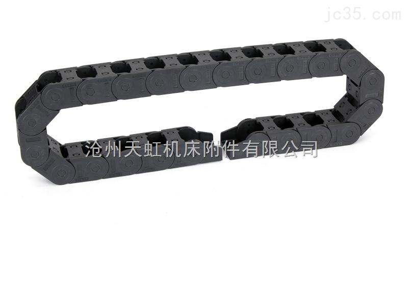 坦克链条 机床雕刻机配件 工程尼龙塑料拖链 35*100
