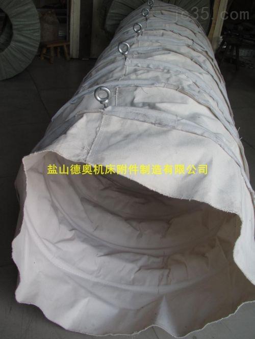 """长期库存""""DN300*600输送水泥帆布伸缩袋""""定制厂家"""
