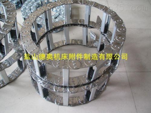 门窗机械线缆牵引钢制拖链厂家