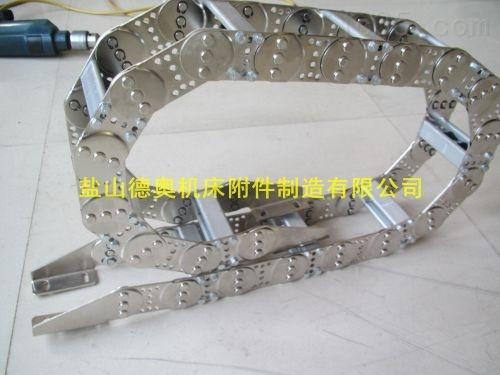 机床线缆移动导向钢制拖链生产厂家