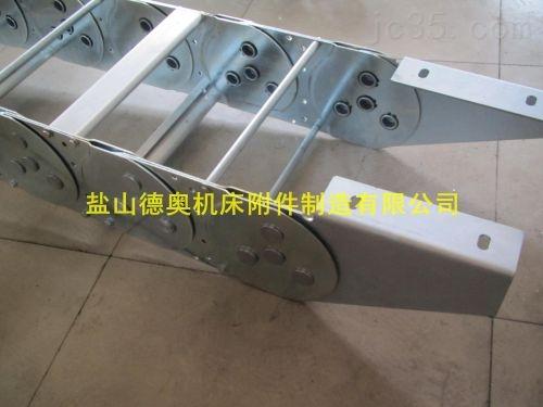 钢厂专用镀镍材质电缆钢制拖链生产厂家