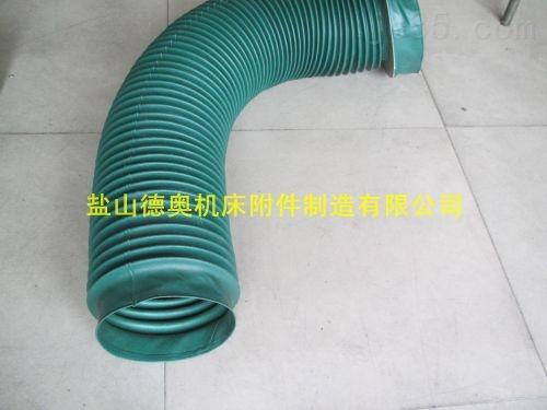 法兰式耐电压加强型承重伸缩通风软连接
