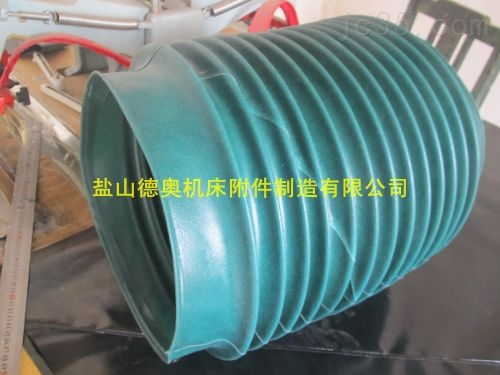 高密度法兰式承重耐温伸缩通风软连接