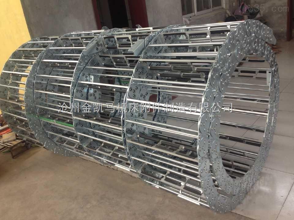 机床钢制穿线拖链
