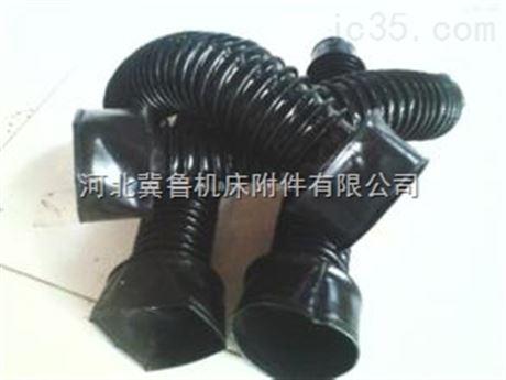 各种机床配件法兰式耐高温油缸防护罩