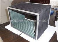 机床柔性风琴防护罩 风琴式伸缩皮老虎 磨床导轨防护罩
