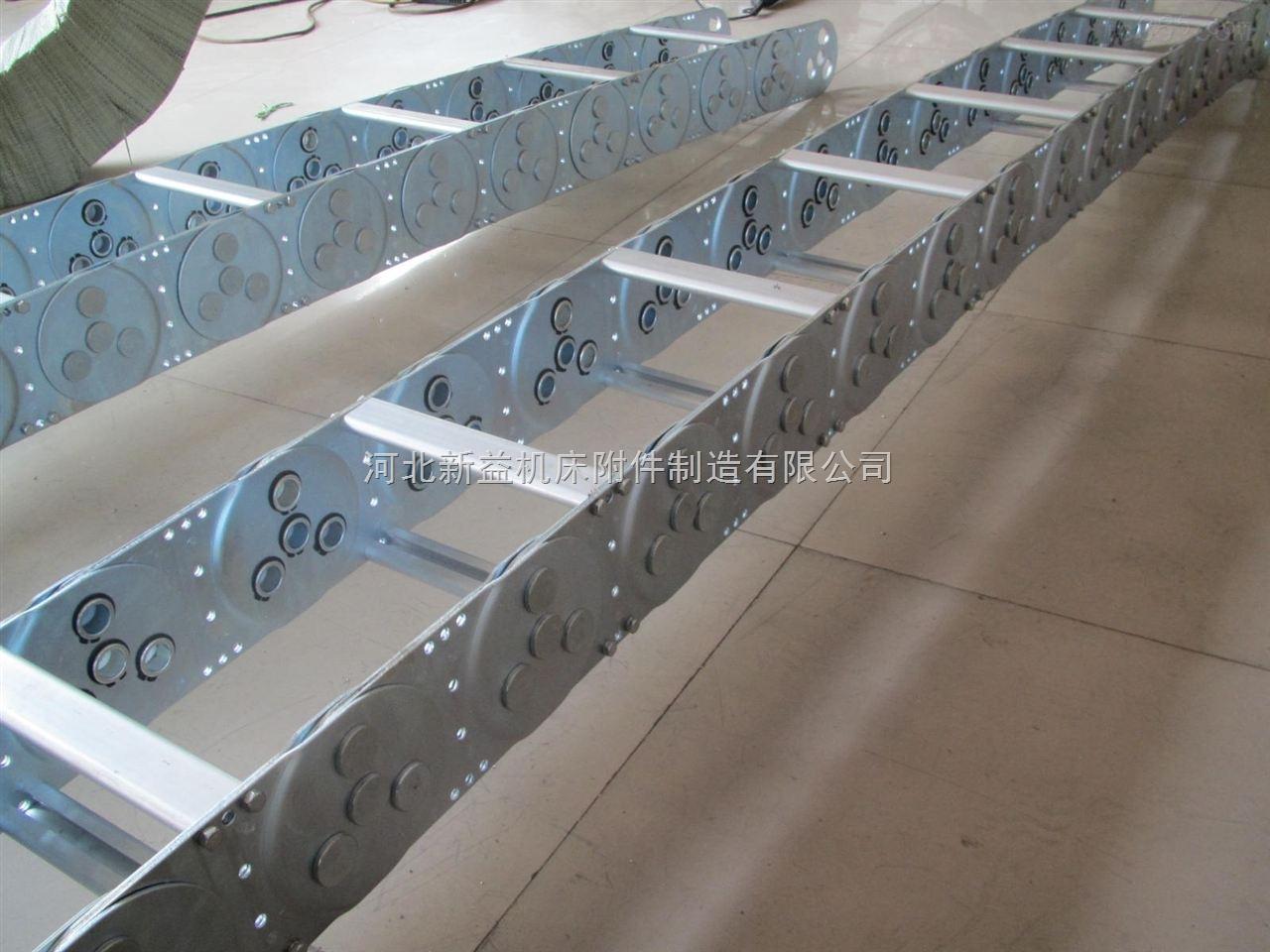 精度高耐磨性强框架式钢铝拖链厂家