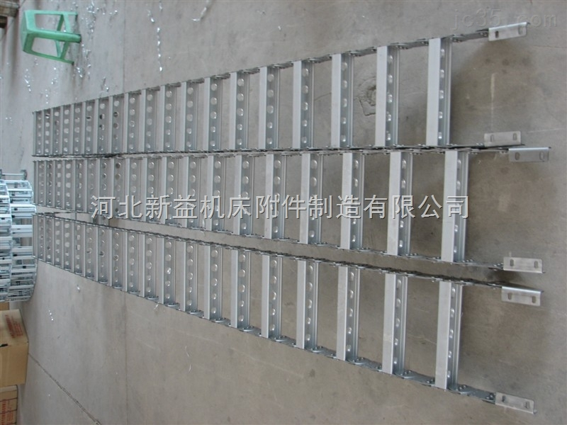 承载数量多,重量大电缆 油管TLG型钢制拖链