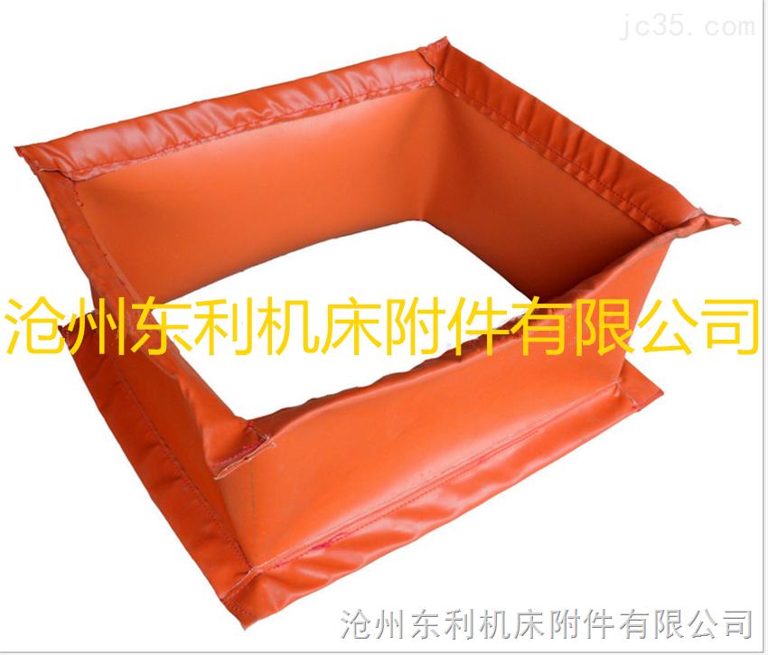 风机方形硅胶高温软连接广泛应用