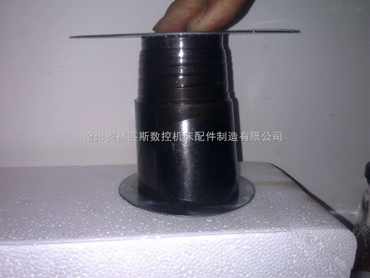 法兰连接式螺旋钢带防护套