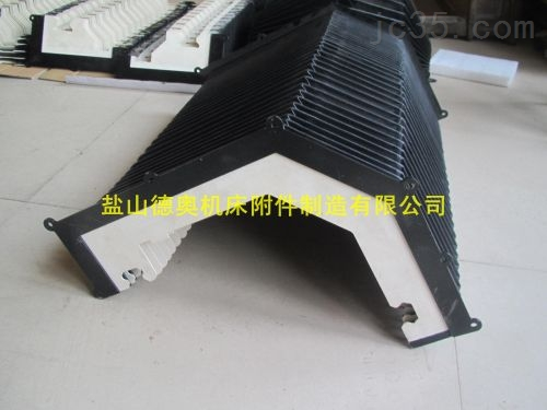 镗床柔性风琴防护罩产品动态