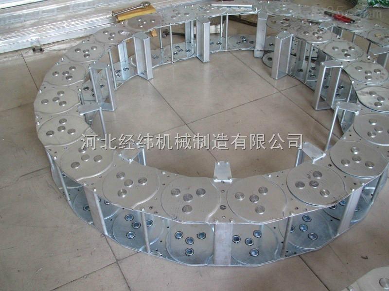 河北油管保护载重型钢制拖链