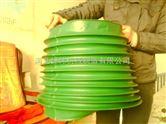 防水布油缸保护套 多角型伸缩防护罩