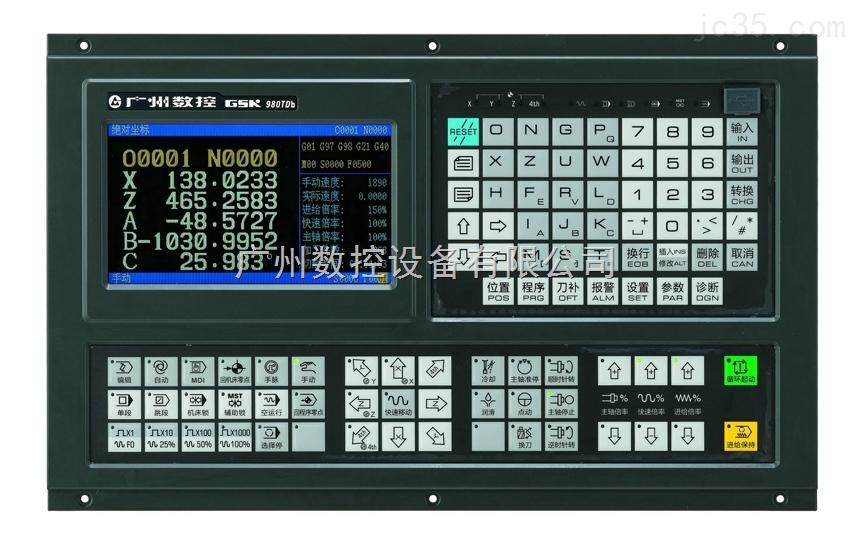 车床CNC数控系统:  车床CNC数控系统产品特点: 1、X、Z、Y、4th、5th五轴控制,Y、4th、5th轴的轴名、轴型可定义 2、2ms插补周期,控制精度1m、0.1m可选 3、最高速度60m/min(0.1m时最高速度24m/min) 4、适配伺服主轴可实现主轴连续定位、刚性攻丝 5、内置多PLC程序,当前运行的PLC程序可选择 6、G71指令支持凹槽外形轮廓的循环切削 7、支持语句式宏指令编程,支持带参数的宏程序调用 8、支持公制/英制编程,具有自动对刀、自动倒角、刀具寿命管理功能 9、支