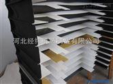 升降机平台高质量压缩不变形风琴式防护罩