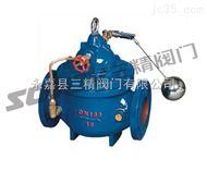 水力控制阀图片系列:100X遥控浮球阀-三精阀门