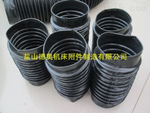 耐酸碱煤矿伸缩防尘罩