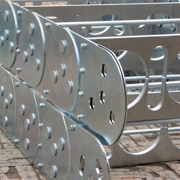 桥式不锈钢工程拖链