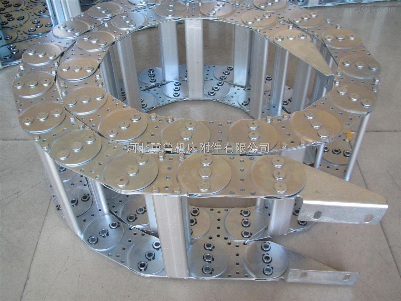 煤矿机械线缆保护穿线钢铝拖链耐磨耐用