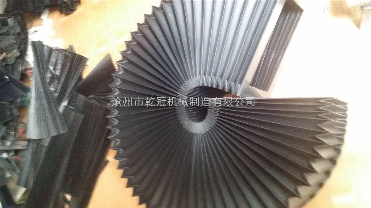 苏州升降台保护罩 升降台防护罩 升降台风琴伸缩安全罩