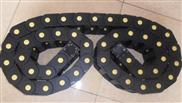 立式镗床线缆穿线塑料拖链   黄点工程塑料拖链