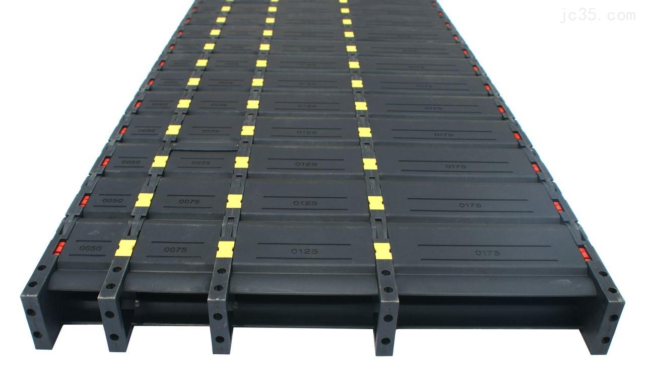 多排重型机床塑料拖链