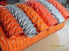 耐高温伸缩风管 阻燃 耐酸碱 防水