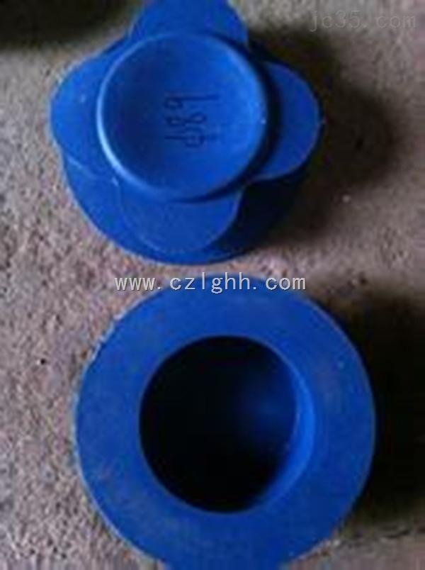 江苏PVC圆形盖子 圆形塑料闷子