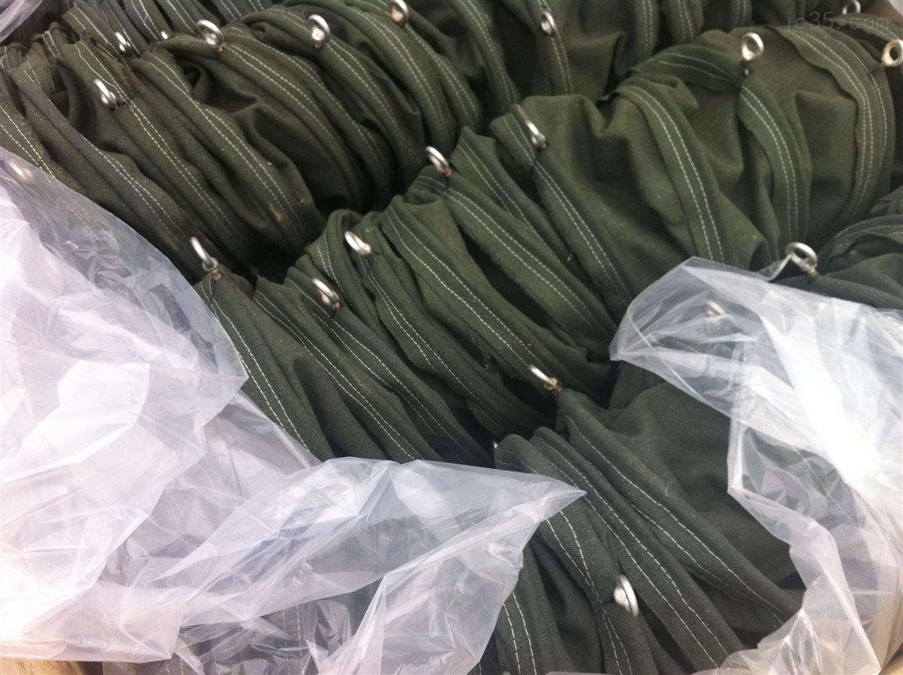 帆布软连接移动滑动专用伸缩软连接