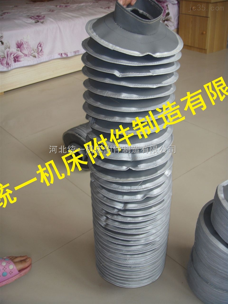 高温拉链式丝杠保护套专业厂家