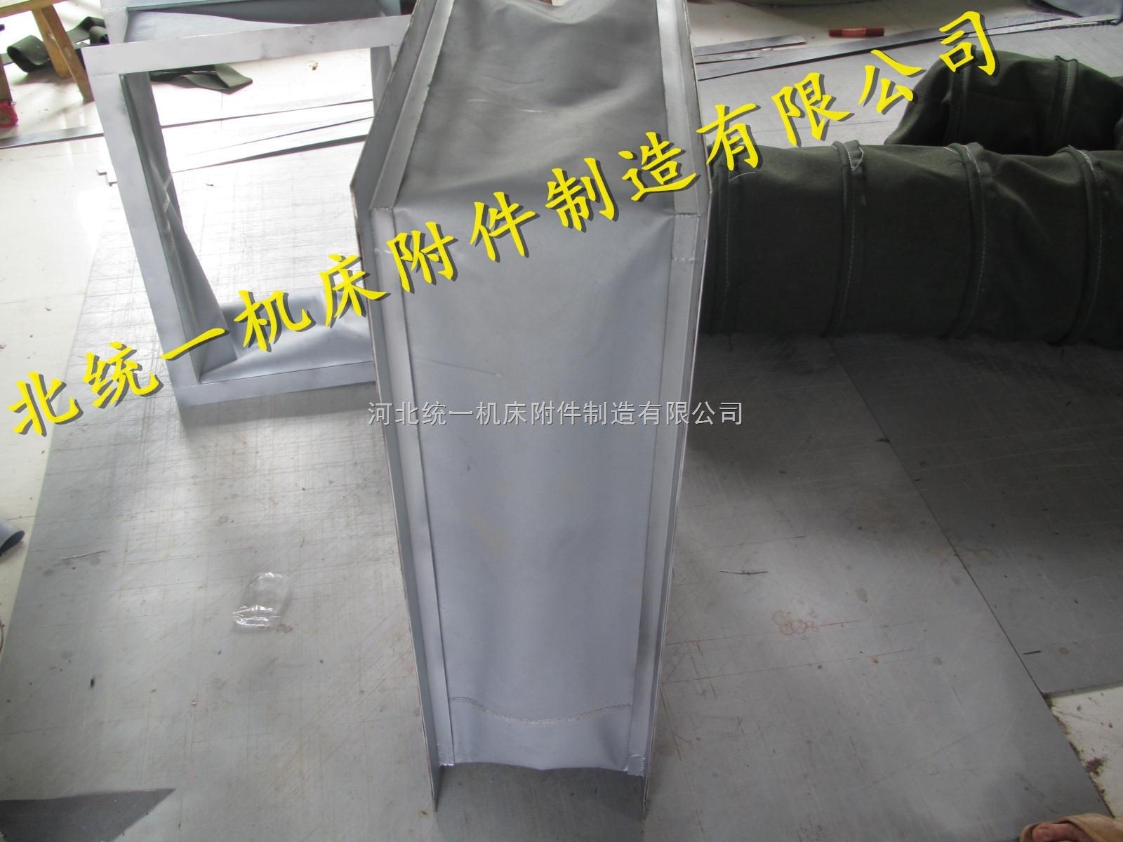 统一硅胶布方形高温软连接